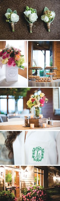 Melon and green wedding inspiration captured by Sabrina Lafon Photography   The Pink Bride www.thepinkbride.com
