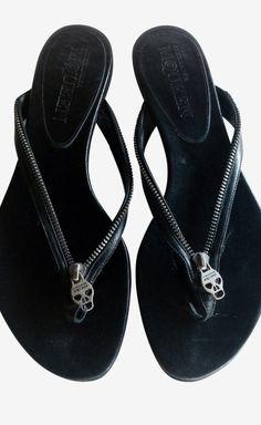Alexander McQueen Skull Sandals