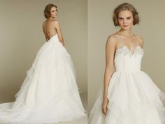 Free shipping online sale New Arrivals Spring 2012 Hayley Paige Bridal Gowns, Wedding Dresses HP6200 Hattie