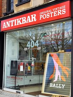 Step into our original vintage poster gallery at 404 King's Road for great decor style and unique gift ideas – or browse our website at http://www.antikbar.co.uk/ AntikBar - Original Vintage Posters, 404 King's Road, London SW10 0LJ. AntikBar.co.uk