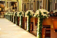 decor igreja cerimonia