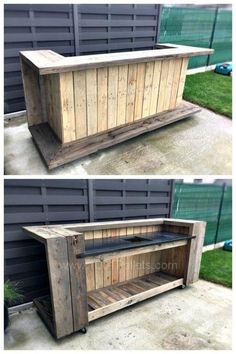 Creative Outdoor Bar Ideas for Your Backyard Inspiration Best DIY Outdoor Bar Ideas and Designs for 2018 Related posts: 97 Best Lounge & Bar Design Images Ideas Basement bar ideas! Bar Patio, Backyard Bar, Backyard Kitchen, Backyard Ideas, Patio Ideas, Bbq Kitchen, Pool Ideas, Pergola Ideas, Sloped Backyard