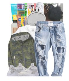 """KIDS : GIRLS"" by sim-pli-city ❤ liked on Polyvore featuring Carmex, Rubbermaid, Dixon Ticonderoga, Mead, Woouf!, S'well, Madden Girl, school, Girls and kids"