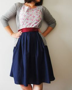 another fantastic young teacher outfit! me likey!
