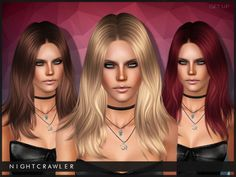 darkosims3: GET UP hair for s3 Hope u guys like it :) DOWNLOAD http://www.thesimsresource.com/downloads/1309834