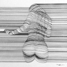Formentera - tekeningen optische illusies 3