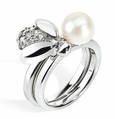 Morellato, anello ape con perla Maia