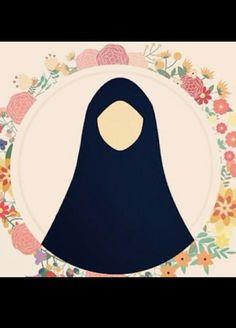 Muslim Family, Muslim Couples, Muslim Women, Hijab Drawing, Happy Eid Mubarak, Anime Muslim, Hijab Cartoon, Cartoon Sketches, Hijab Tutorial