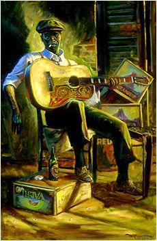John Carroll Doyle, American Impressionist - Charleston Artist.    Blues/Jazz Originals  http://www.johncdoyle.com/private-paintings-by-john-carroll-doyle.php?colID=2