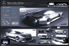 speed limit breaks by opening exclusive road for autonomus driving cars. This project suggests high-speed GT cars that have more simple procedures compared to an airplane and can be used in on any weather conditions. Car Design Sketch, Car Sketch, Mercedes Benz, Used Cars Movie, Presentation Board Design, Mexico 2018, Dodge Charger Daytona, Gt Cars, Automotive Design