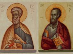 Sfinţii Apostoli Petru şi Pavel Portrait, Tattoos, Tatuajes, Headshot Photography, Tattoo, Portrait Paintings, Drawings, Portraits, Tattos