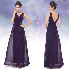 Custom purple Wedding Dress Bridal Gown Deb Plus-Size&colour