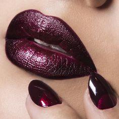 Lipstick Brands for LIP ART design – My hair and beauty Lip Art, Lipstick Art, Lipstick Colors, Lip Colors, Dark Lipstick, Mac Lipsticks, Maroon Nails, Burgundy Nails, Red Burgundy