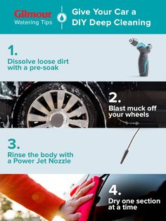 Boost the beauty and longevity of your vehicle with a DIY deep-clean. Get the dirt on how to have your car looking like new.