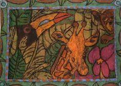 Henri Rousseau art lesson ideas for Rainforest unit study.