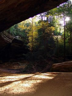Ash Cave Trail, Hocking Hills, Ohio...seriously a VERY COOL place!! loved the trip there and would go again!!@K D Eustaquio Bollinger Gast