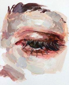 Eye study elly smallwood oil on canvas 2017 acrylic portrait painting, portrait watercolour, oil Art Inspo, Inspiration Art, Elly Smallwood, Arte Sketchbook, A Level Art, Fine Art, Aesthetic Art, Aesthetic Eyes, Oeuvre D'art