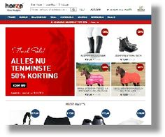 Horze.nl Kijk voor meer webshops op gebied van Paardensport op:  http://www.paardensport-shop.nl/webshops-paardensport-shop/