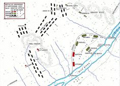 Battle of Omdurman 2nd September 1898: the Main Dervish Attack: map by John Fawkes
