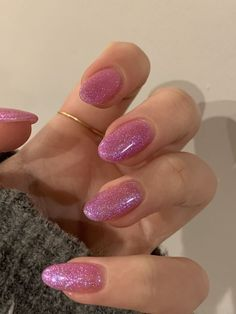 Aycrlic Nails, Hair And Nails, Coffin Nails, Stiletto Nails, Pointed Nails, Pink Gel Nails, Glitter Gel Nails, Pretty In Pink, Stars Nails