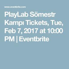Çocuklar için kaçırılmayacak kış kampı!  PlayLab Sömestr Kampı Tickets, Tue, Feb 7, 2017 at 10:00 PM | Eventbrite