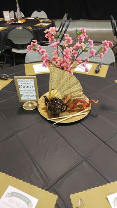 """Disney Theme Bridal Shower Mulan """"Would You Like to Stay for Dinner? wedding centerpieces Disney Theme Bridal Shower Mulan """"Would You Like to Stay for Dinner? Princess Bridal Showers, Disney Bridal Showers, Bridal Shower Tables, Bridal Shower Centerpieces, Wedding Centrepieces, Disney Inspired Wedding, Wedding Disney, Tumblr Posts, Disney Princess Centerpieces"""