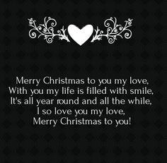 25 Merry Christmas Love Poems for Her and Him | Cute Love Quotes for ...