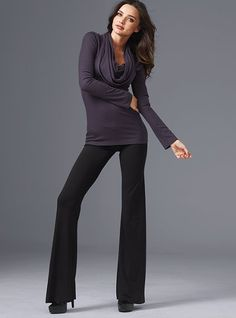 this looks comfy and warm! and I would so wear for work!