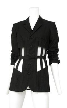 Vintage Jean Paul Gaultier Cage Jacket @ Resurrection Vintage