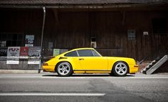 1987 Porsche 911 RUF CTR Blackbird. (Click on photo for high-res. image.) Photo found here: http://www.caranddriver.com/photo-gallery/1987-ruf-ctr-yellowbird-911-turbo-driven-video