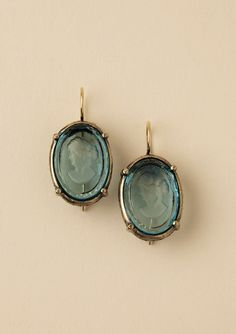 EXTASIA Cameo Earring $52.00 #earrings #jewelry