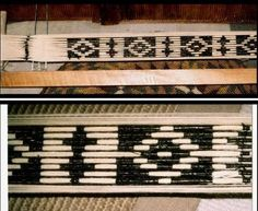 IKAT on a backstrap loom!
