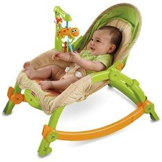 Baby Gear Fisher-Price - Newborn to Toddler Portable Rocker - Bouncers & Vibrating Chairs