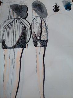eerste tekening