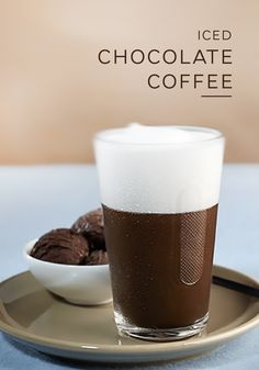 This easy Iced Chocolate Coffee recipe highlights the intense flavor of Kazaar Grand Cru. Make your next Nespresso moment an indulgent one with this combination of rich chocolate ice cream, bold espresso, and sweet macaron syrup.