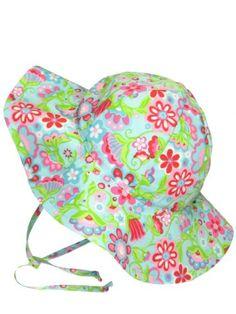 Baby Infant Toddler Girl Calypso Iplay Brim Sun Hat by Iplay - Aqua - 0- 223038ce5583