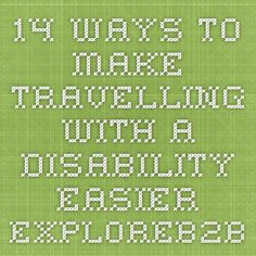 14 Ways to Make Travelling with a Disability Easier - Primates, Disability, South Africa, Travelling, Easy, How To Make, Primate