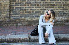 Whitney's Wonderland UK Fashion Blogger wearing Lindsay Lohan for Lavish Alice collection, Thomas Sabo necklace, Ralph Lauren sunglasses, and Ash footwear leather wedges