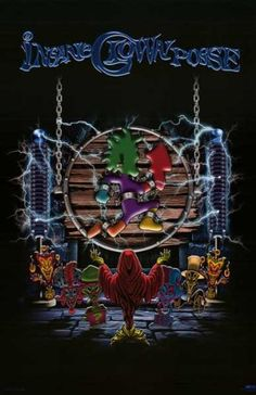 Insane Clown Posse - ICP - Frankenstein Logo - 22x34 Poster by Generic, http://www.amazon.com/dp/B0031EF9RQ/ref=cm_sw_r_pi_dp_EOTesb181549R