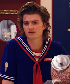 The Tiny Detail You Missed About Steve Harrington's Hair On