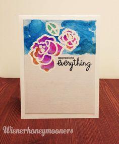 wienerhoneymooners: Appreciate Everything - Paper Smooches CAS(E) This sketch!