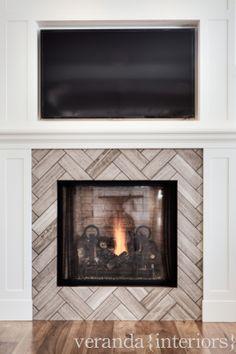 | veranda interiors | Adore this fireplace surround.
