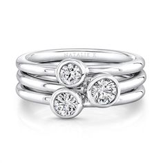 Stack them for triple the fun. #Forevermark by Natalie K.   http://www.casalejewelers.net/Category/Designers/Forevermark/Fashion_Ring?page=1&pagesize=10