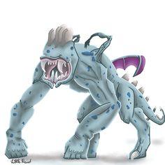 Pokemon Fusion 7.1 : Zuchop  -  #PokemonFusion #Pokemon #Zubat #Machop