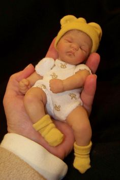 hand-crafted babies from Cheryl Hill Creations