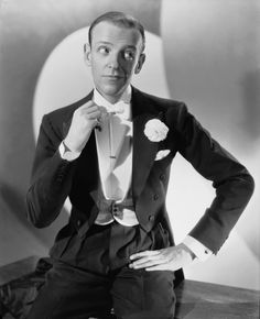 Fred Astaire was a famous American film and Broadway dancer. Description from alivenotdead.com. I searched for this on bing.com/images