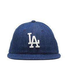 45407763c6fb6 New era mlb los angeles dodgers cap in cone denim