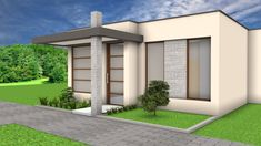 House Window Design, Small House Design, House Front, My House, Decoration Photo, New Home Designs, Kitchen Design, House Plans, New Homes