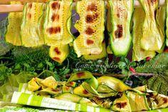 Grigliata di zucchine ! In padella, in ghisa, griglia elettrica o forno!! Qual'è lo spessore giusto? Consigli   QUI la Ricetta  http://blog.giallozafferano.it/dolcipocodolci/come-grigliare-zucchine/