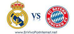 Real Madrid vs Bayern Munich En Vivo Semifinal Champions League 2014.  #ChampionsLeague